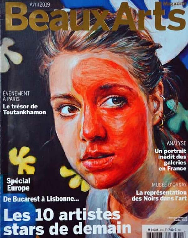 Beaux Arts April 2019 cover