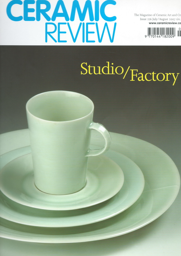 Ceramic Review Issue 226 July-Aug 2007 cover