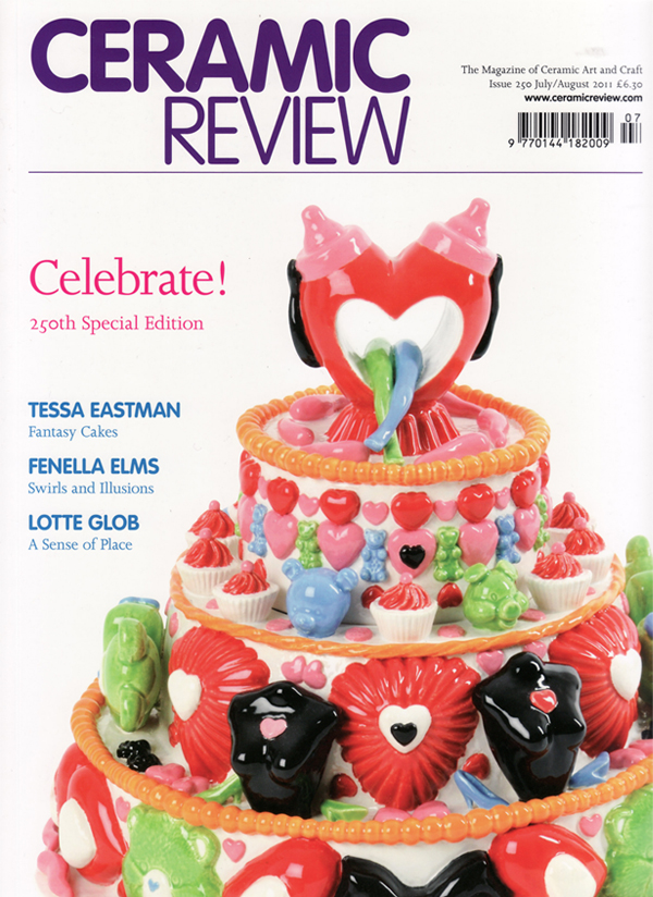 Ceramic Review Issue 250 July-Aug 2011 cover