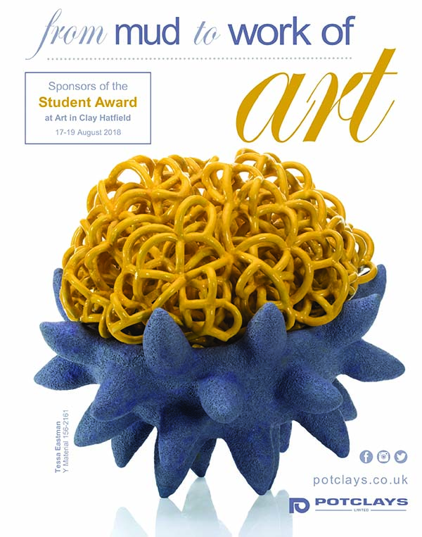 Clay Craft Issue 17 July Aug 2018 cover