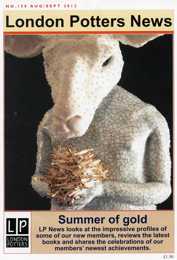 London Potters News Issue 150 Aug-Sept 2012 cover