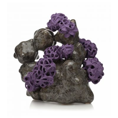 Resurgence ceramic sculpture by Tessa Eastman