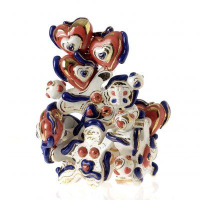 Great Little Britain ceramic sculpture by Tessa Eastman